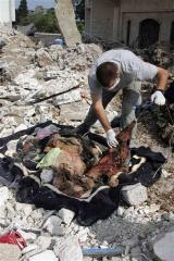 remains of a woman in tyre tuesday afp