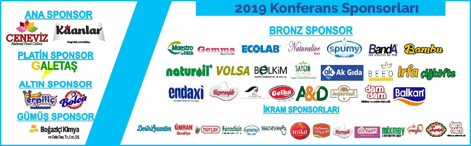Helal ve Tayyib Ürünler Konferansi 2019 Sponsorlar